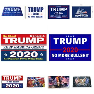 hot Donald Trump Flag 2020 Keep Make America Great MAGA Trump 2020 Banner Party Banner Flags 90*150cm 11 Styles T2I51004