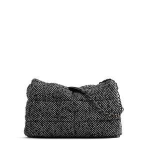 HBP Fashion Women Messenger Bag Chains de lujo Bolsa de hombro Diseñador Crossbody Bolsa para Lady Casual Black Black Rayed Big Monedero Tote grande