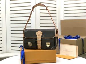 Luxurys Designers Sacs Sacs à bandoulière Vintage Sac à main M40027 Femmes En Cuir Totes Sac Oxter Axillaire Dame Petits Sacs à main