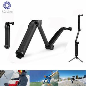 CADISO للماء 3 طريقة قبضة Monopod ل GoPro Hero 5 6 4 جلسة SJ4000 Xiaomi Yi 4K كاميرا Go Pro Selfie Stick مع طقم ترايبود LJ200904