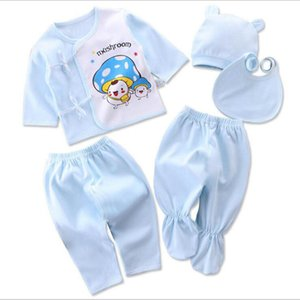 Bekamille infantile neonato set (/ set) abbigliamento morbido cotone moda ragazzi ragazze vestiti LJ201223