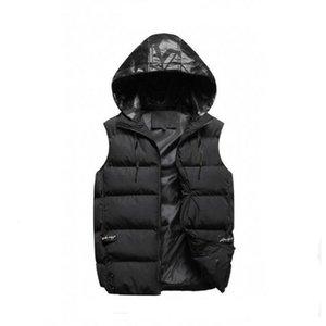 Großhandel Männer Außenkleidung Winter Weste Daunenweste Feder Design Jacken Casual Wege Mantel Herren Daunenmäntel