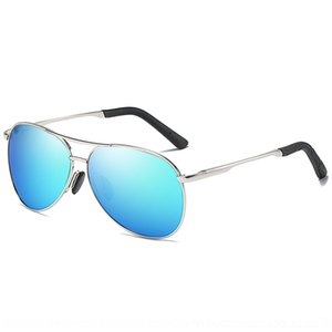 Special men's pilot sun Polarized glasses metal spring foot polarizer sunglasses 8013