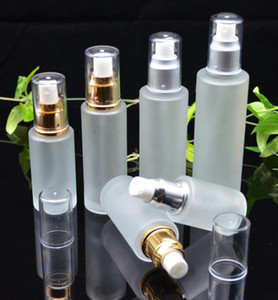 20ml 30ml 40ml 50ml 50ml vetro glassato bottiglia di lozione nebbia pompa spray bottiglie cosmetici campione contenitori contenitori contenitori vaso piatto profumo GGA3832