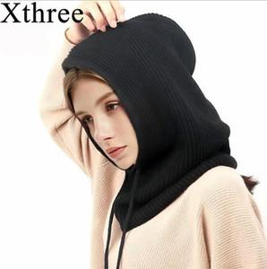 Winter Wool Knitted Scarf Hat Set Beanie Women Scarf Skullies Beanies Hats For Women Men Caps Gorras Bonnet Mask
