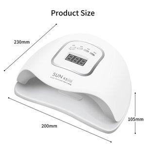 90W LED Nail Lamp Nail Dryer Dual hands 45 PCS LED UV Lamp For Curing UV Gel Nail Polish With Motion Sensing Manicure Salon Tool