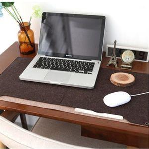 1PC Winter Warm Oversized Felt Multifunctional Computer Mouse Pad & Keyboard Pad & Writing Desk alfombrilla de ratón1