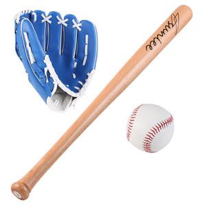 Guantes de béisbol de béisbol de béisbol de béisbol de béisbol de béisbol de 25 pulgadas Set de combinación de béisbol de tres en uno para niños regalo de vacaciones para niños