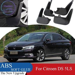 4PCS Protecteur de l'areau arrière ABS ABS pour Citroen DS 5LS 2014-2017 Boue-boue de voiture Flaps Splash Guard Garde-boue boue boue boue