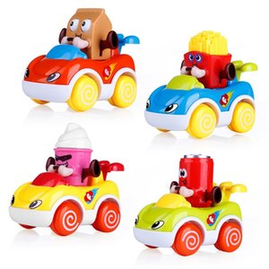 Early Educational Development Cars for Kids Toddler Friction Powered Vehicles Baby Pull Back Car Toys for 1 2 3 Years Old baby Z1202