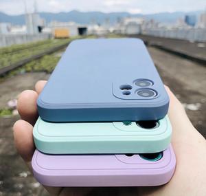 Luxury Original Square Liquid Sile Phone Case For Iphone 12 11 Pro Max Mini Xs X Xr 7 8 Plus Se 2 Slim Soft jllktt qpseller