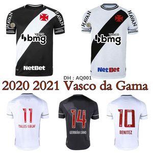 2020 2021 Vasco da Gama Futebol Jerseys Home 3Rd Germán Cano Benitez 20 21 Camisa de Futebol