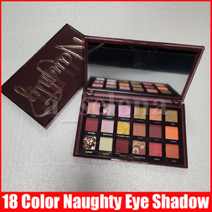 Nuovo Eye Beauty Eye Makeup Naughty Nude 18 Colori Eyeshadow Shimmer opaco Eye Shadow Shadow Polvere pressata tavolozza