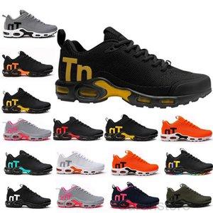 2019 Nouveau Mens Mercurial Plus TN Ultra Se Noir Blanc Orange Orange Personnage Personal Shoes Casual Femmes Mentraines Sports Sneakers Taille 40-46 K2R5