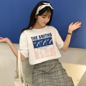 The Smiths The Queen is dead Us tour 86 T Shirt Summer Casual Fashion Fun New T shirt Harajuku Womens Short Sleeve