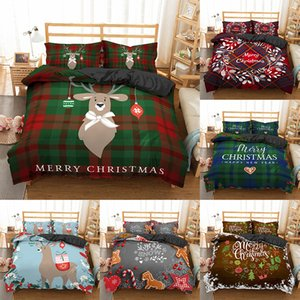 Bedding sets 3D Christmas Style Bedclothes Duvet Cover Pillow Cases Sets Twin Queen King Size Bed Sets Bed Decoration Z1126