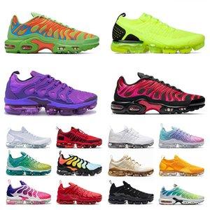 nike air vapormax plus tn flyknit 2019 vapor max running off white max vapourmax airmax shoes des Chaussures de course Hommes Femmes Taille US 13 Baskets