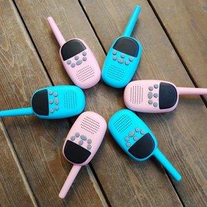Envío gratis Newest Product Mini Toy Walkie Talkie Herramientas de comunicación inalámbrica portátil Productos de seguridad Walk Talk Free