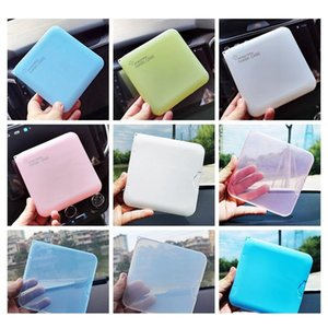 12Style Face Mask Storage Box Case Portable Disposable Face Masks Container Dustproof Mask Case Transparent Plastic Organizer Bins Dheia