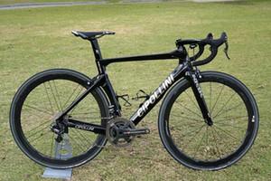 أسود cipollini nk1k الكربون الطريق دراجة كاملة مع 5800 أو r8000 groupset الكربون 50 ملليمتر الطريق العجلات
