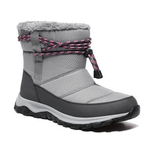 Top Snow High Shoes Women Winter Outdoor Walking Sneakers Fashion Plush Boots Warm Velvet Non-Slip Snow Shoes for Cold Weather J1203