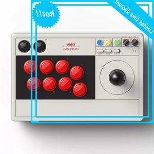 8bitdo Arcade Stick V3 Проводной Bluetooth джойстик 2.4G приемник для выключателя окна с сопоставлением Создать кнопку Macro