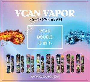 VCAN Fabricants SEAN VENDANT Authentique VCAN Double Vape Vape Pen VCAN Double / Honnière 2 en 1 avec Panneau de flux d'honneur Max Max MAX