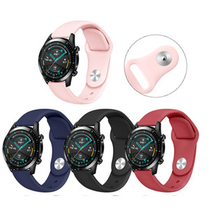 Replaceable watchstraps for Huawei Watch GT gt 2 Active 42mm 46mm Silicone Strap with Retail packaging