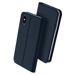 Negocio Flip Cover Luxury PU Cuero Magnético Kickstand Card Pocket PROTECTOR PROTECTOR TELETTER Funda para teléfono para iPhone 12 11pro