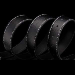 black hot Top Quality Belt for Men Classic business mens belt genuine man luxury man high quality leather luxury man belt free