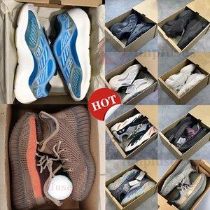 V2 Kanye West V3 Azaël ALVAH 700 Hôpital statique Aimant coureur d'onde Chaussures de course 500 noire os Oreo Asriel Sport Sneaker avec la boîte