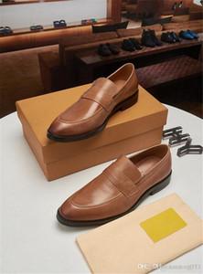 A1 Mode Business Dress Herrenschuhe Neue Klassische Leder Herrenanzüge Schuhe Mode Slip auf Kleid Männer Oxfords Größe 38-45