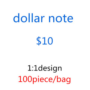 2020 Hot Sale Counterfeit 10 Dollars Fake Money Banknotes Prop Money Paper Toy Banknote Bar Atmosphere Stage Birthday Party 05