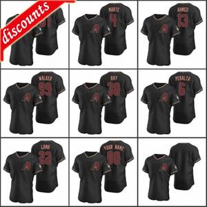 Arizona \ Rdiamondbacks Мужчины # 25 Archie Bradley 4 Ketel Marte 22 Jake Lamb 51 Рэнди Джонсон Пользовательские Женщины Молодежь Малиновый Аутентичные 2020 Джерси