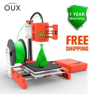 OUX X2 Mini Desktop 3D Printer High Precision School education institution Children Mute Printing with PLA Filament1