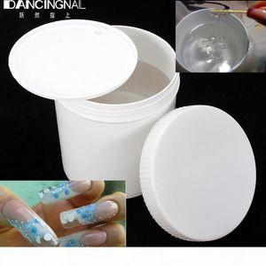 Wholesale- Professional 1Pc 1KG Clear Nail UV Gel Builder Acrylic DIY Beauty Salon Nails Art Tips Glue DIY Manicure Designs Tools