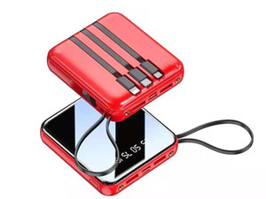 The Charger comes with a three-in-one ultra-thin portable mini share with a large capacity quick charge universal