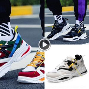 dpDoe c9Ae1 2019 new kanye west Tennis sports Tennis sports shoes 700 men casual shoes INS dad Vintage dad super light breathable male zapat