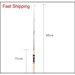 75cm Length Portable Shrimp Ice Fishing Pole Portable Light Weight Fishing Tackle Lure Rods Fishin wjt abc2007