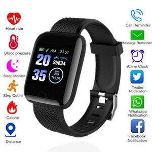 Smart Watches 116 Plus ID116 D13 Heart Rate Watch Wristband Sports Watches Smart Band Waterproof Smartwatch Android With retail packaging