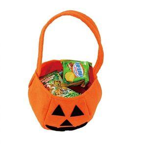 Sacs d'Halloween Sacs Courbe Courband Titulaires enfants Enfant Jouer Trick Traitez Snack Basket Sac Pumpkin Sac Portable Halloween Panier Gwe4297