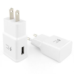 Adaptive Fast Charger 5V 2A USB-Ladegerät Energien-Adapter für Samsung Galaxy S9 S8 Plus-S7 Rand Anmerkung 9 Anmerkung 8