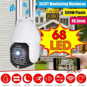 5MP Camera Wifi Version PTZ 8X Zoom 1080P Outdoor Security Wireless Monitor Waterproof CCTV Smart Home Surveillance