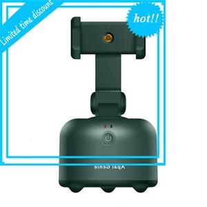 AI Portable 360 Objet Vlog Mobile Face Rotation Caméra Tracking Auto Smart Shooting Thread