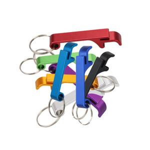 포켓 키 체인 맥주 병 오프너 발톱 막대 작은 주석 음료 오프너 키 체인 열쇠 고리 지원 사용자 정의 로고 GWF4498