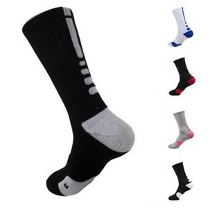 2pcs = 1pair USA Basketball Elite Professionnel Chaussettes longues genou Athletic Socks Sport Hommes Mode Compression thermique Chaussettes d'hiver DHL FY7322