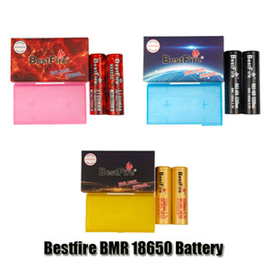 Bormefire Original BMR 18650 Batterie 3100MAH 60A 3200MAH 40A 3500MAH 35A ​​3.7V LI-HP Rechargeable Lithium Vape Mod Batterie authentique