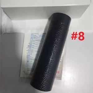 Ins Isolamento termico Bollitore Bollitore Vintage Breve Outdoor Thermal Cup per adulti Portatile da 500 ml Tazza con regalo delicato della scatola