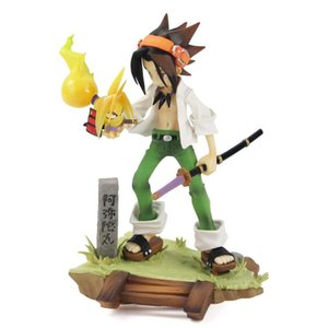 17 cm Japan Anime ARTFX J Shaman King Yoh Asakura Scale Pre-Painted Figure PVC Model Toy