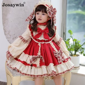 Christmas Dress for Girls Baby Autumn Winter Navidad Lolita Girl Wedding Dress Girl Ball Gown 2020 Princess Party Kids Vestidos F1203